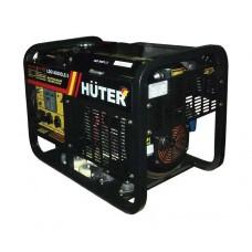 Генератор Huter LDG 14000CLE3 с колесами и аккумулятором